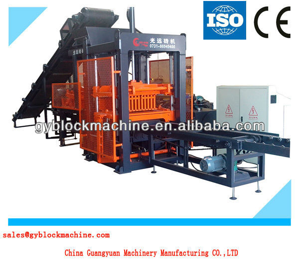 construction equipment GYM-QTY3-18 quality products light brick making machine