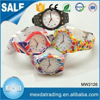 Excellent quality custom japanese movement silicone watches wholesale