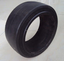 ANYGO brand 12x4 1/2x8 (305x114x203.2) SM press on solid tire ,Forklift solid tyre/tire ,solid cushion tire XZ11