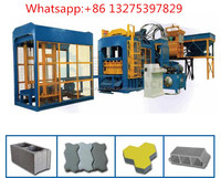 New advanced QT5-15 Yes Automatic and Brick Molding Machine Processing salt block machine bamboo pallet price in India