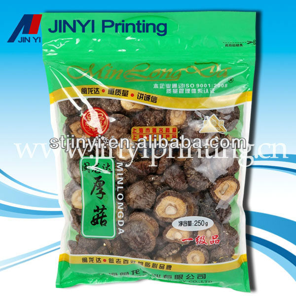 clear plastic food package film