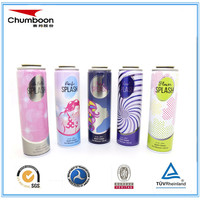 Tinplate Metal Type aerosol can and Aerosol Use hot deodorant spray