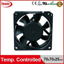Temperature Controlled Exhaust Fan 70x70x25mm (PSD1207PTB1-A)