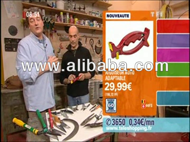 new knife and tool sharpener sol.inge as seen on TV