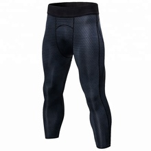 <strong>Men</strong> Workout 3/4 Plus Size Leggings Oem Top Selling Football Leggings Fitness Yoga Wear Compression Tight Gym Pants Capris