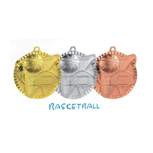 Basketball Sports Metal Medals For Winner Souvenirs Awards