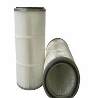 ptfe membrane deep pleated paper air dust filter