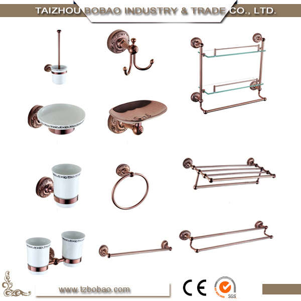 Series 6400M complete production system Rose Gold bathroom accessories manufacturer with distributor