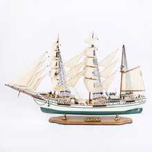 Mettle New Arrival Length 100 CM CUAUHTEMOC Crafts Nautical Equipment Wooden Ship Model