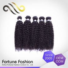 Oem Service Tangle Free Virgin Curl Italian Cuticle Remy Hair Kinky Curly Extension