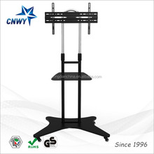 new model free standing tv stand wooden furniture tv showcase