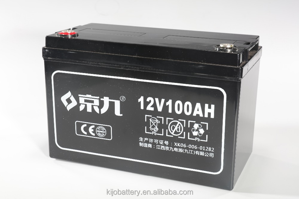 12V 100ah AGM Deep Cycle Gel Solar Battery SMF Maintenance Free Sealed Lead Acid VRLA Batteries