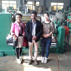 New design open two roll rubber hot rolling mill