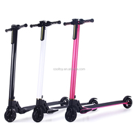 Coolwheel carbon fiber Lightest Weight Electric Scooter with Only 6.3KG Weight