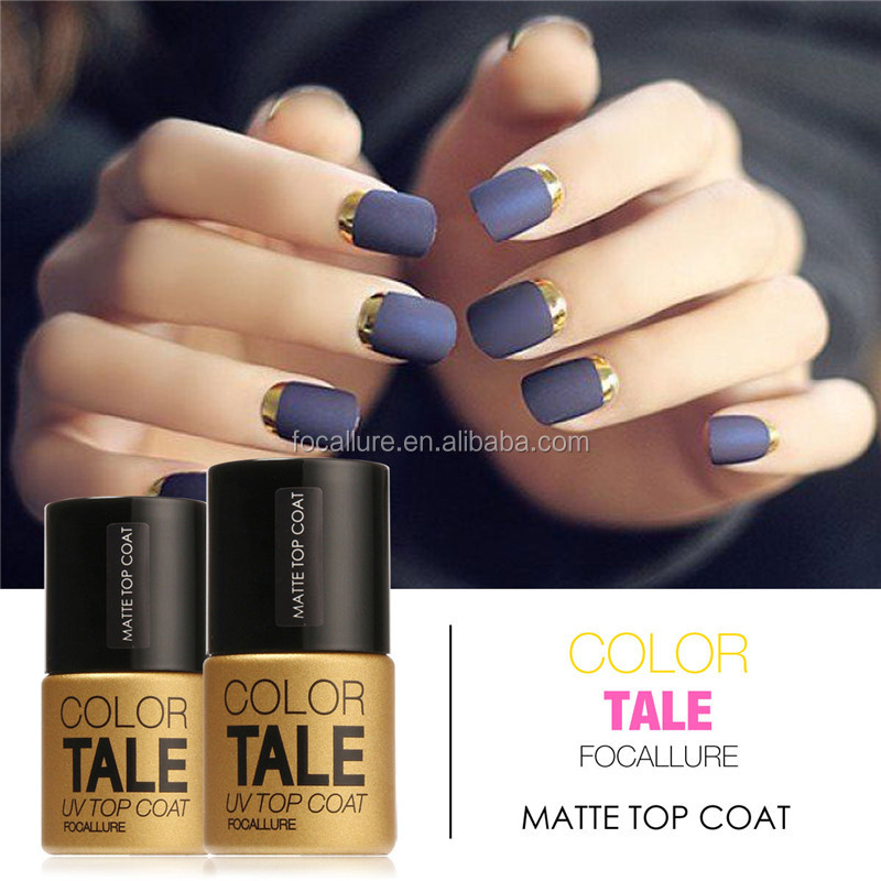FOCALLURE Matte Top Coat Nail <strong>Gel</strong> Polish Long Lasting Matte Top coat LED UV Nails <strong>Gel</strong> Lacquer Matte Top <strong>Gel</strong>