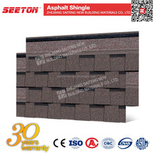 Laminated Bitumen Shingle , Waterproofing Materials for Concrete Roof