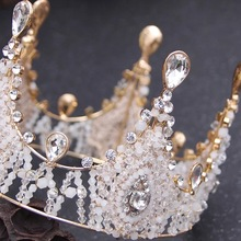 Silver Crystal Rhinestone Royal Princess Wedding Bridal Pageant Prom Tiara <strong>Crown</strong>