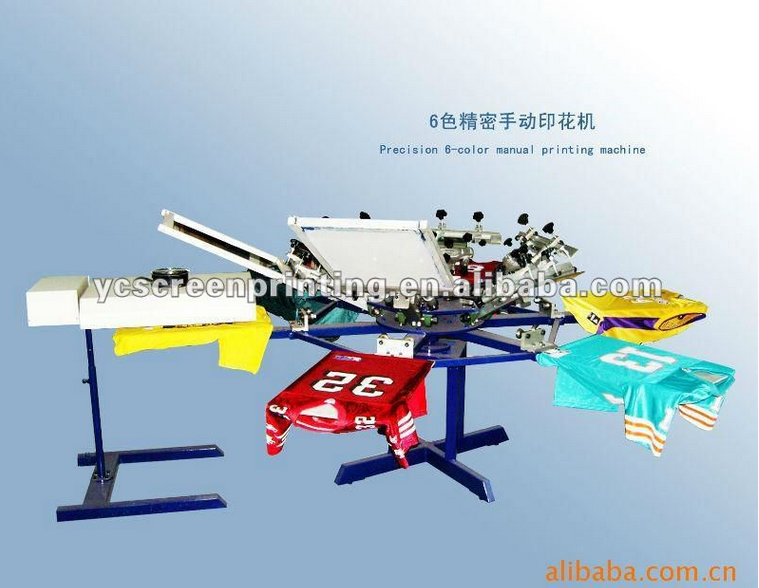 High Precision Manual Screen Printing Machine for Underwear