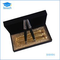Corporate Business Gifts Twin Pen Set, Metal Ballpen With Roller Pen
