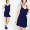 Hot Sale Ladies Elegant Dress Chiffon,High Quality Latest Design Casual Dress,Stretch Satin Cocktail Dress