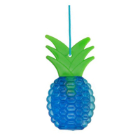 Hanging Plastic Material New Design Fruit Shape Car Scent Diffuser Blue Car Air Freshener