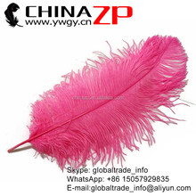 Professional Wholesale Prime Quality Light Coral Size from 18 to 20inch Navy Pink Ostrich Feather for Dance Party Feather Fan