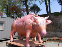 2016 High Quality giant inflatable cow for outdoor decoration inflatable bull for sale