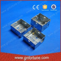 galvanized sheet metal electrical terminal boxes