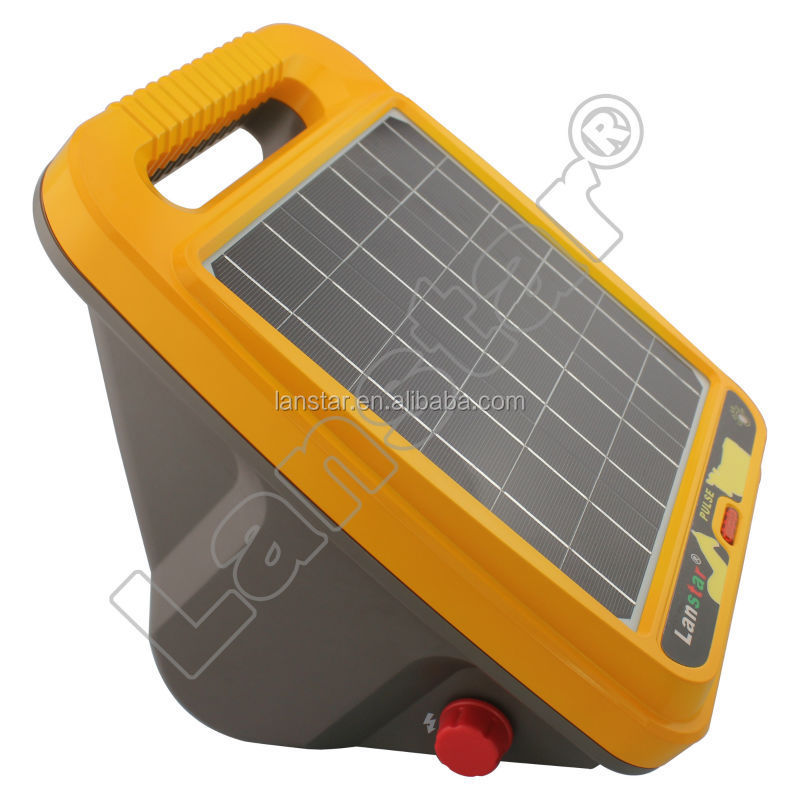 Lanstar solar energizer LX-6T03 livestock solar powered electric fence