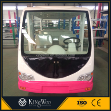 Promotion ! 2015 Year 14 passengers Electric Shuttle Bus On Sale