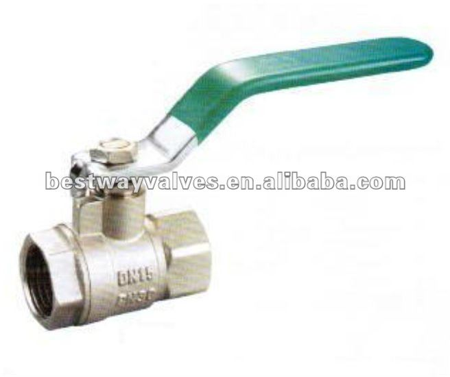 Brass copper ball valve