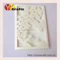 new product for party decoration butterfly luxurious wedding invitation card