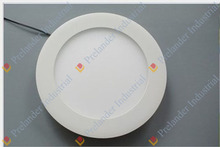 Ultra thin 6000K house and office round led panel light.