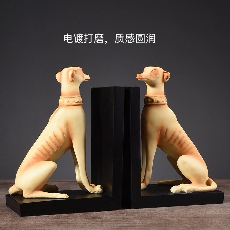 wholesale modern home decorative thinker resin bookend