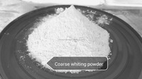 Building interior wall coatings coarse whiting powder material environment
