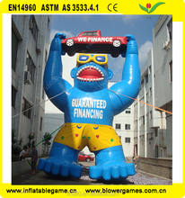 ape giant inflatable animals for advertising