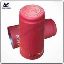 PVC Shrinkable Film Seal Black Blue Maroon for Red wine