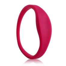 Custom printed 13.56mhz NFC RFID wristband bracelet festival silicone rfid wristbands for event/party