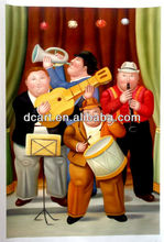 Botero Oil Painting Newest Handmade Painting For Decor