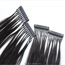 New Products Easy To Install 6D Hair Extensions Virgin Hair High Quality 6D Hair Extensions
