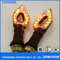 Mini and shining star Led turn signal lights for Motorcycle