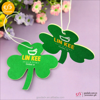 2016 Made in China Eco-friendly air freshener for car/paper air freshener for promotion gift
