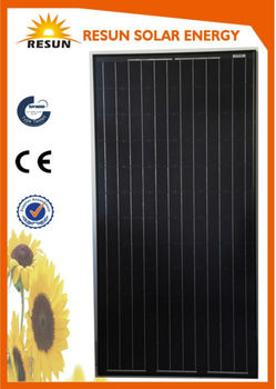 hot sale CE and TUV certified 280 high efficiency poly crystalline pv solar panel manufacturer in China