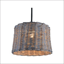 Wholesale modern decorative handcrafted rattan knitting lampshade design for pendents and table lamp