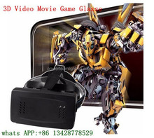 VR Virtual Reality 3D Video Movie Game Glasses Helmet with Magnet For 3.5~6 inch Smartphones