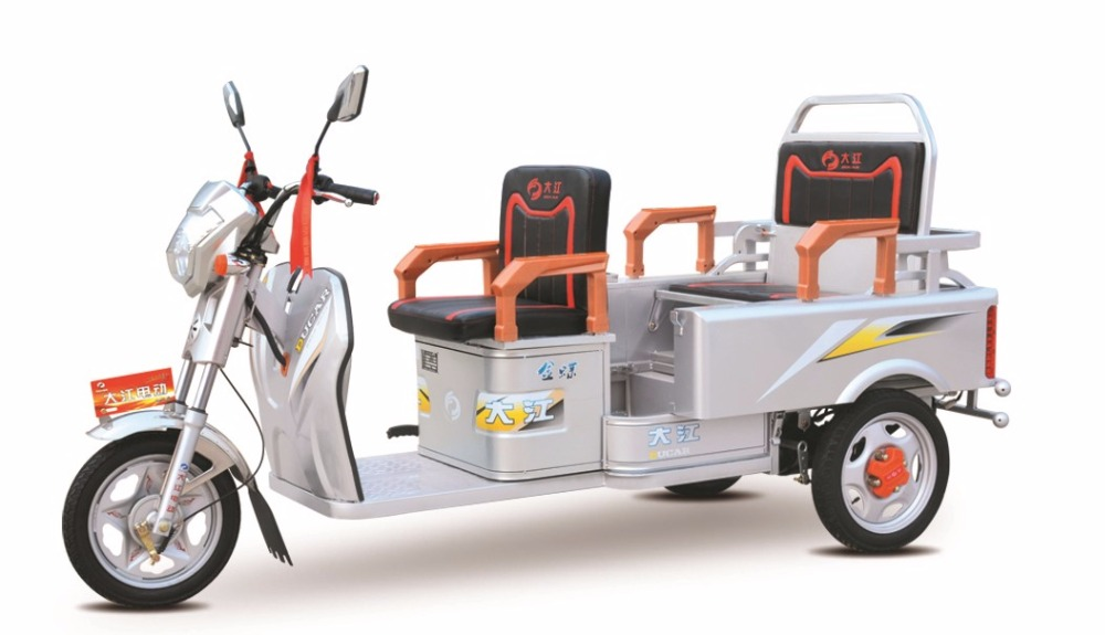 Chian factory electric folding adult trike for passenger and cargo used