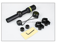 1.5-6x24 scopes riflescope with green fiber