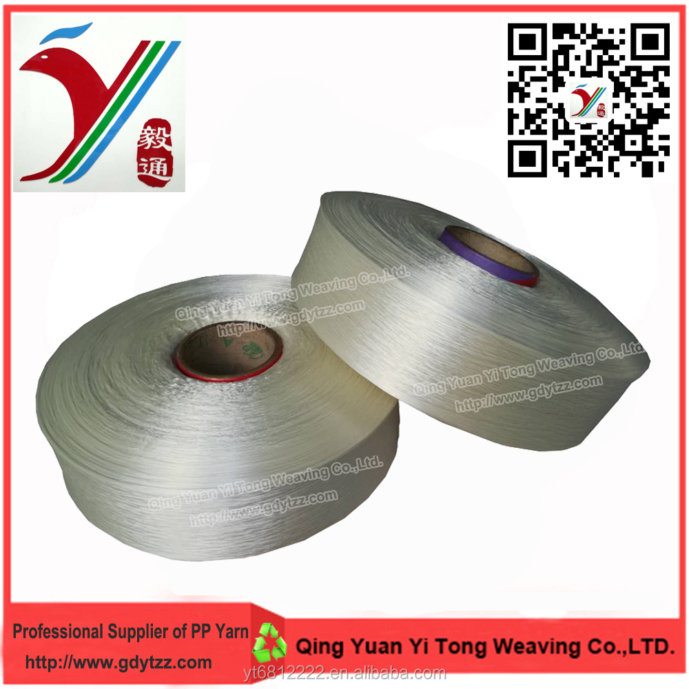 100%polypropylene 900d fdy yarn pp yarn with low price for weaving webbings