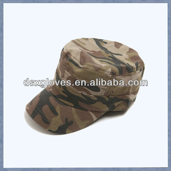 custom fashion military hat manufacturer green military hat camo military hat