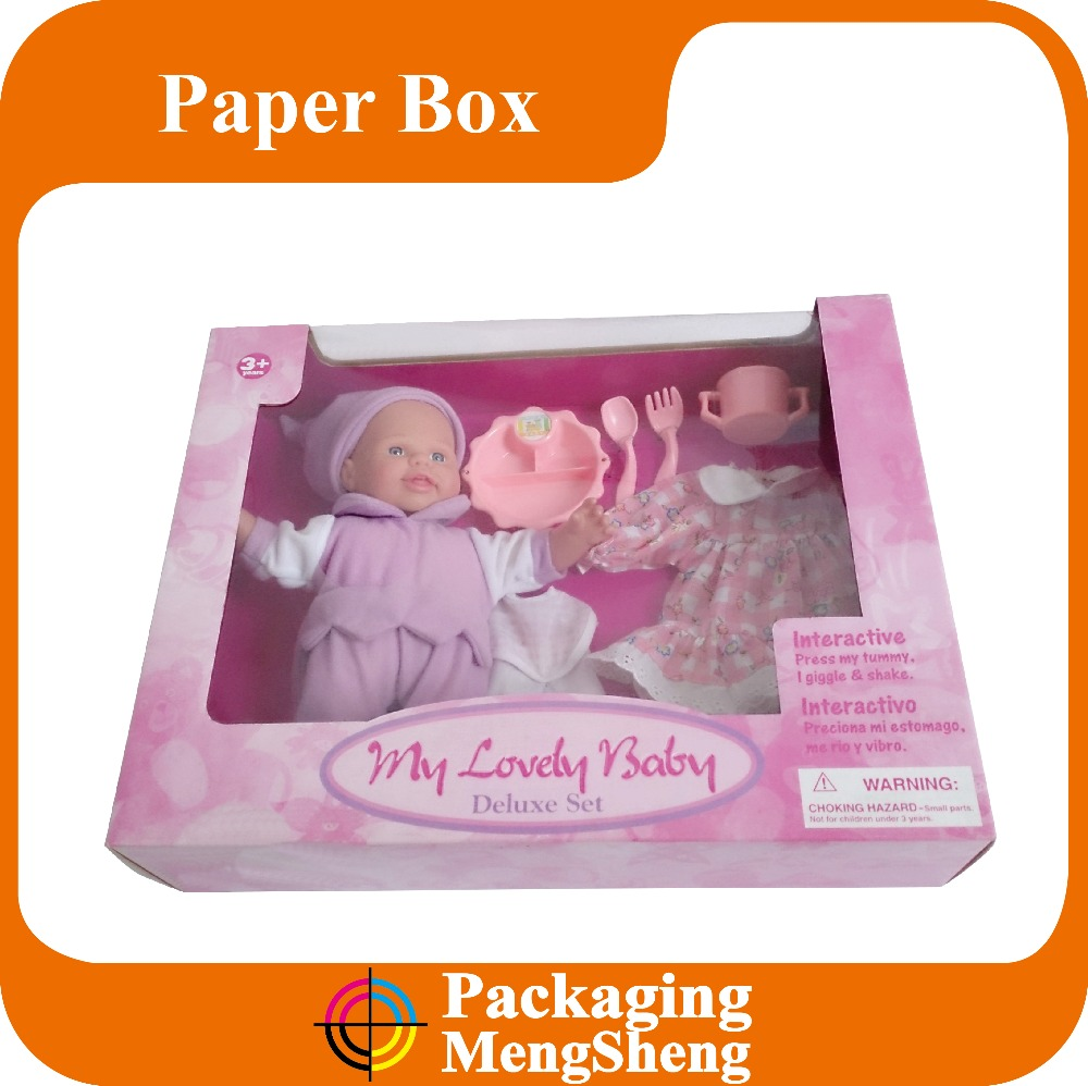 Doll packaging box,soft toy packaging box ,stuffed animals packaging box
